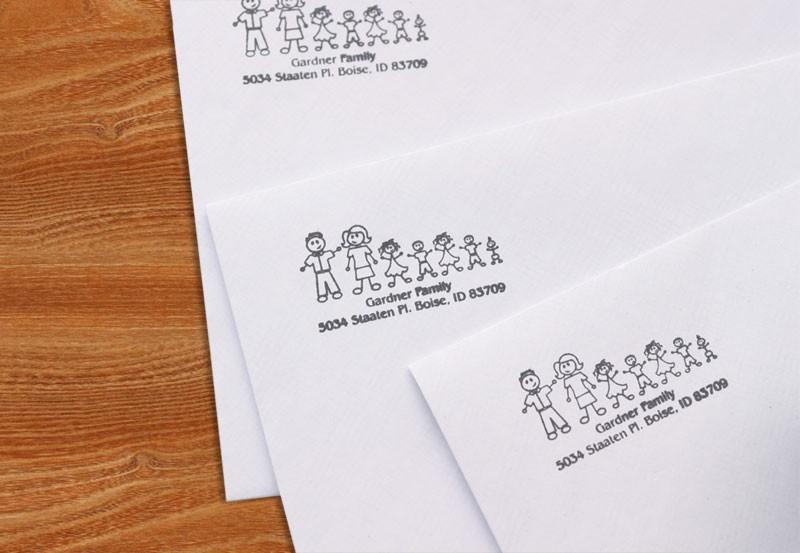 family address stamp